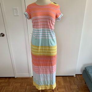 C&C California | Short Sleeve Maxi Dress